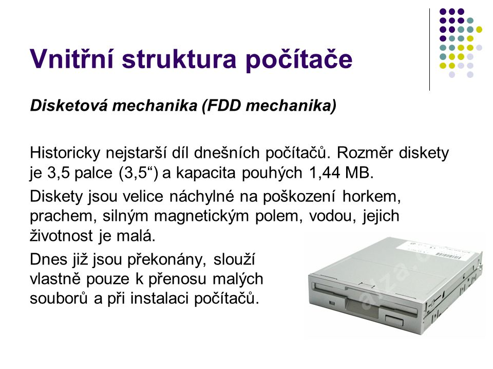 Vnitřní struktura počítače