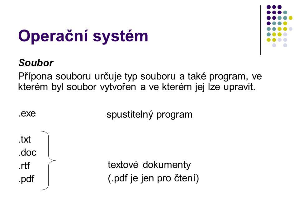 Operační systém Soubor