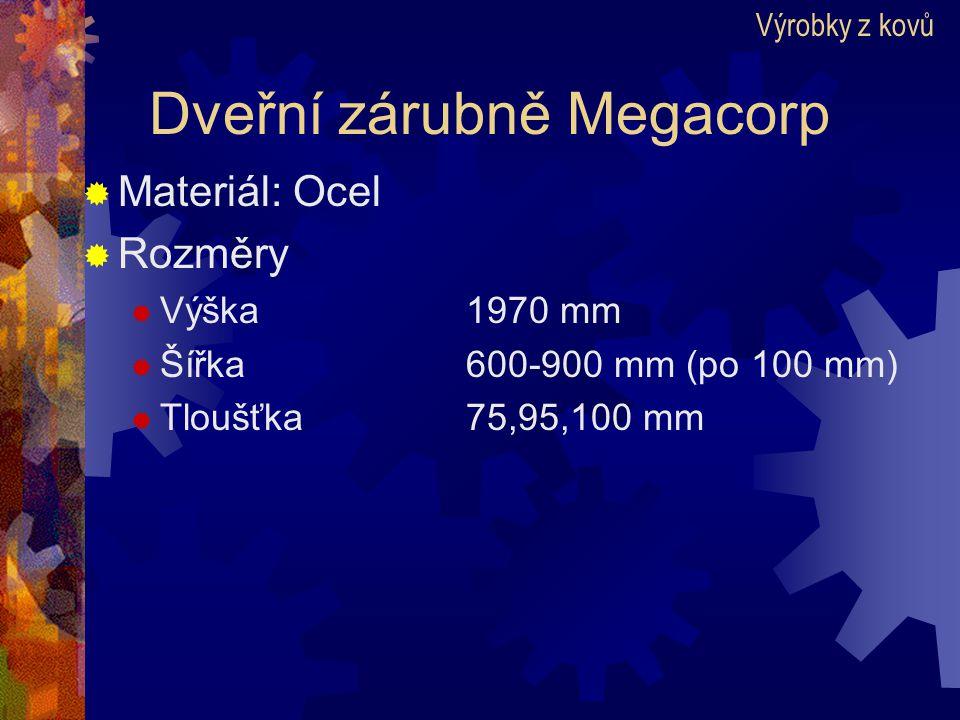 Dveřní zárubně Megacorp