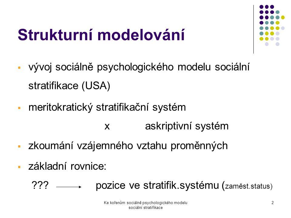 Strukturní modelování