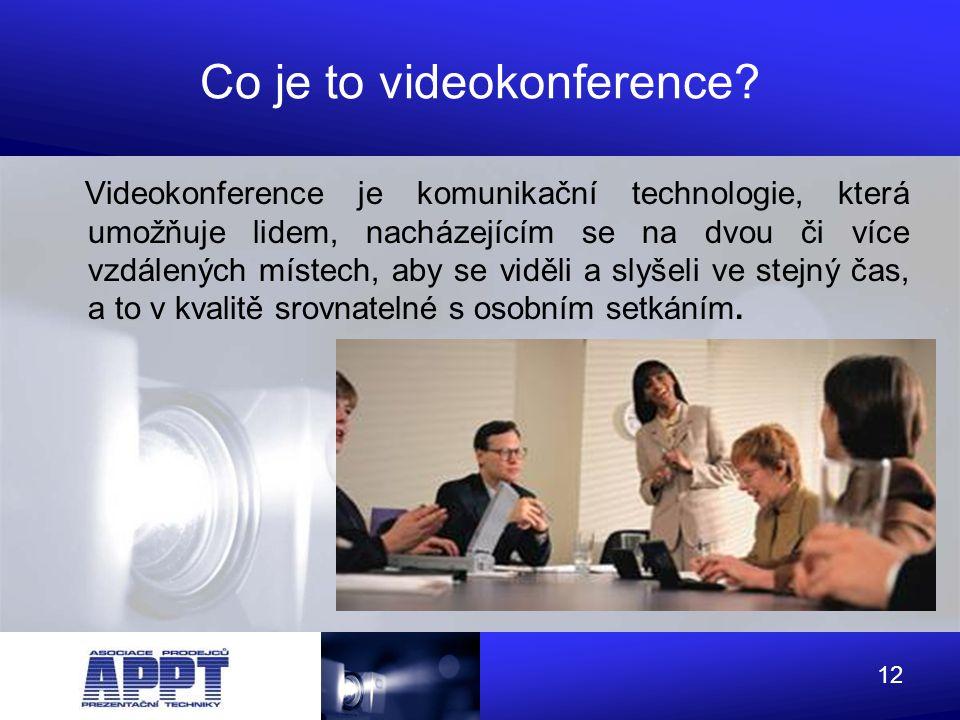 Co je to videokonference