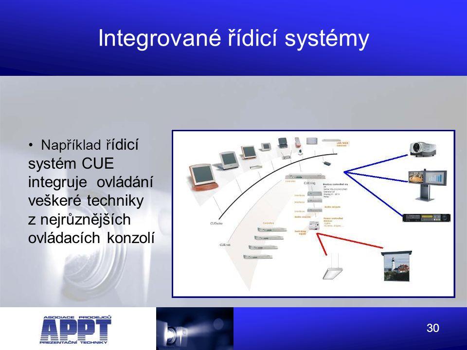Integrované řídicí systémy