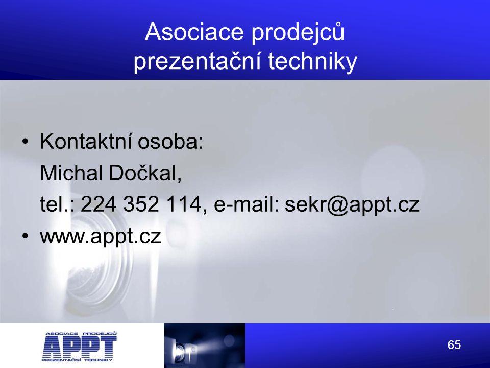 Asociace prodejců prezentační techniky