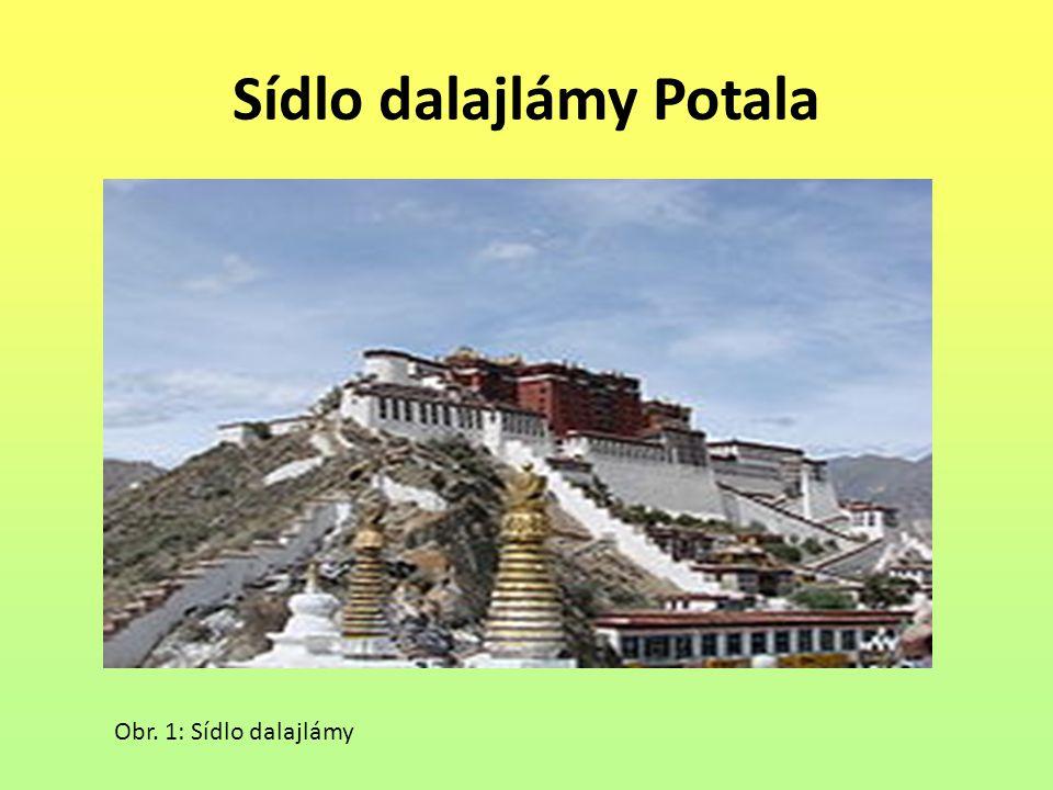 Sídlo dalajlámy Potala