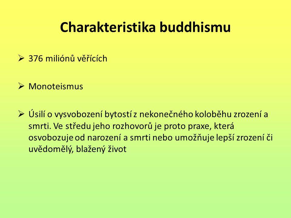 Charakteristika buddhismu