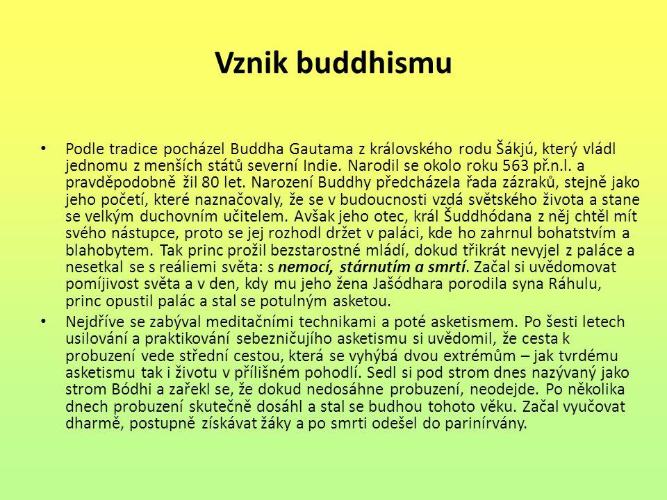 Vznik buddhismu