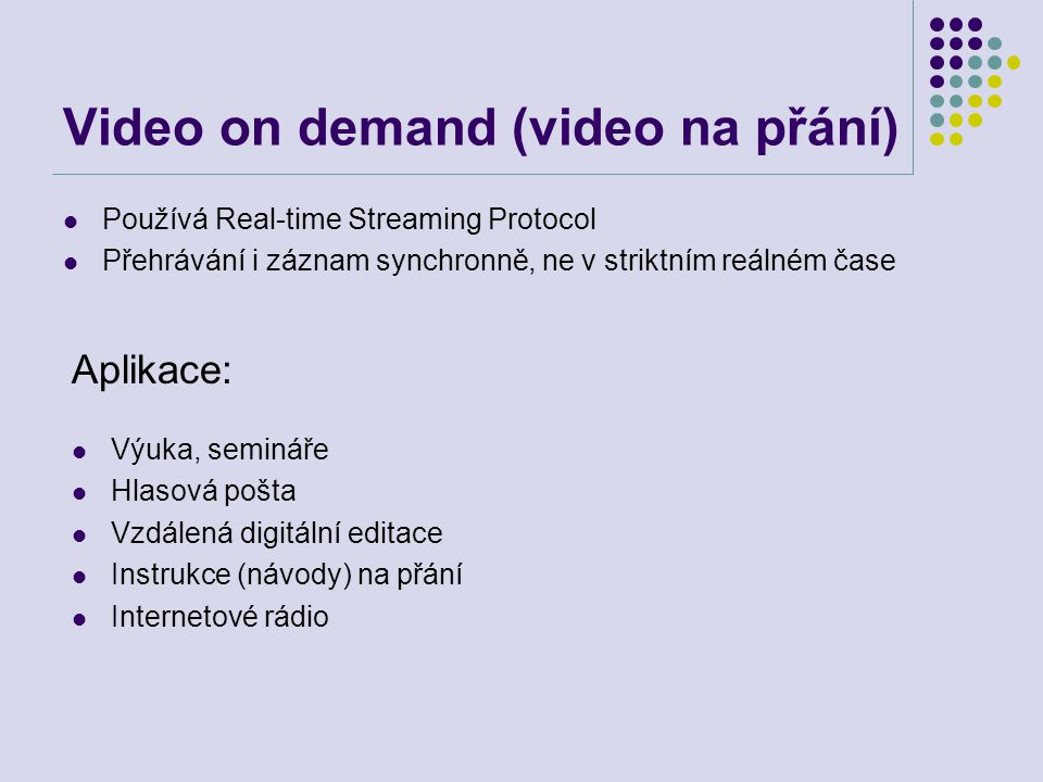 Video on demand (video na přání)