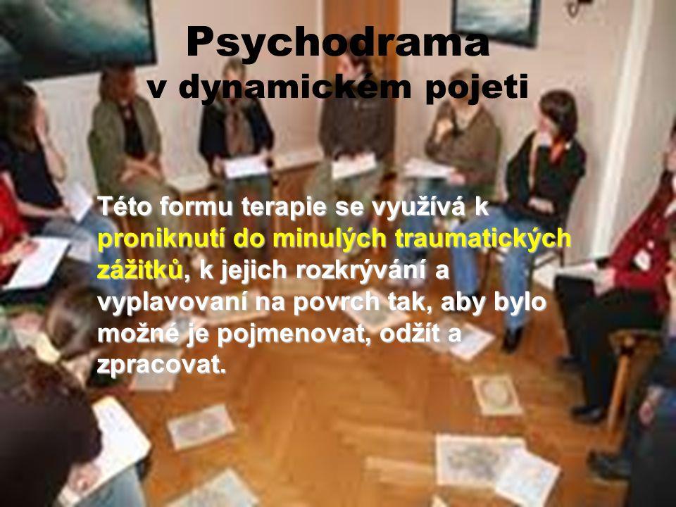 Psychodrama v dynamickém pojeti