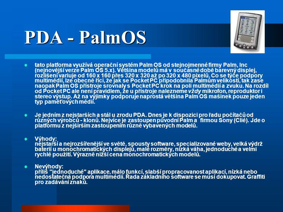 PDA - PalmOS