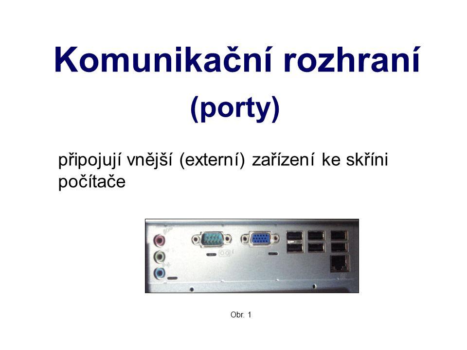 Komunikační rozhraní (porty)