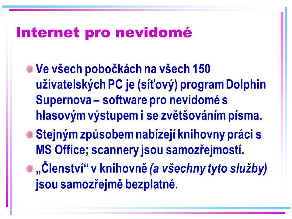 Internet pro nevidomé