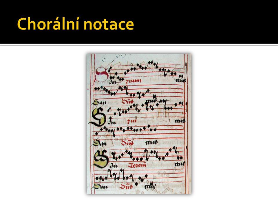 Chorální notace