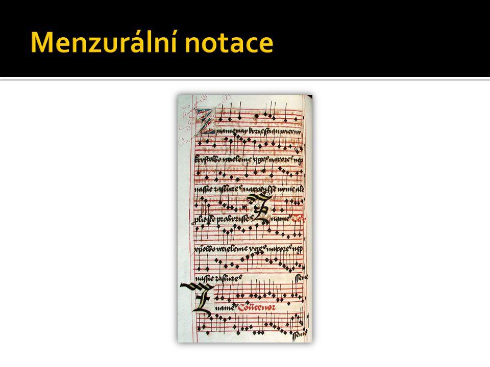 Menzurální notace