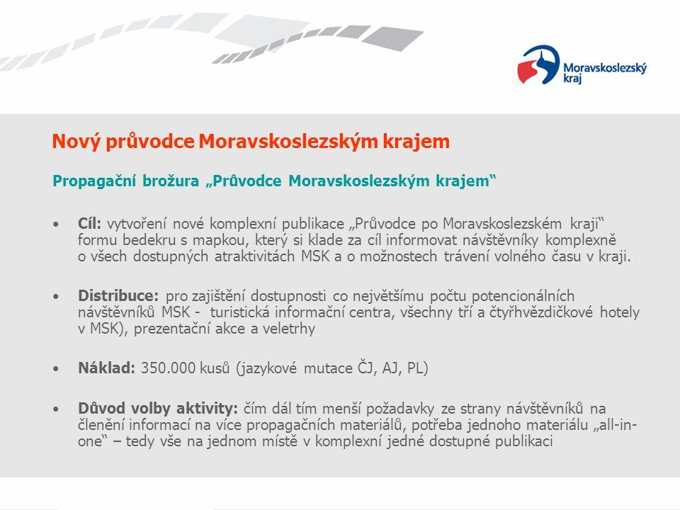 Nový průvodce Moravskoslezským krajem