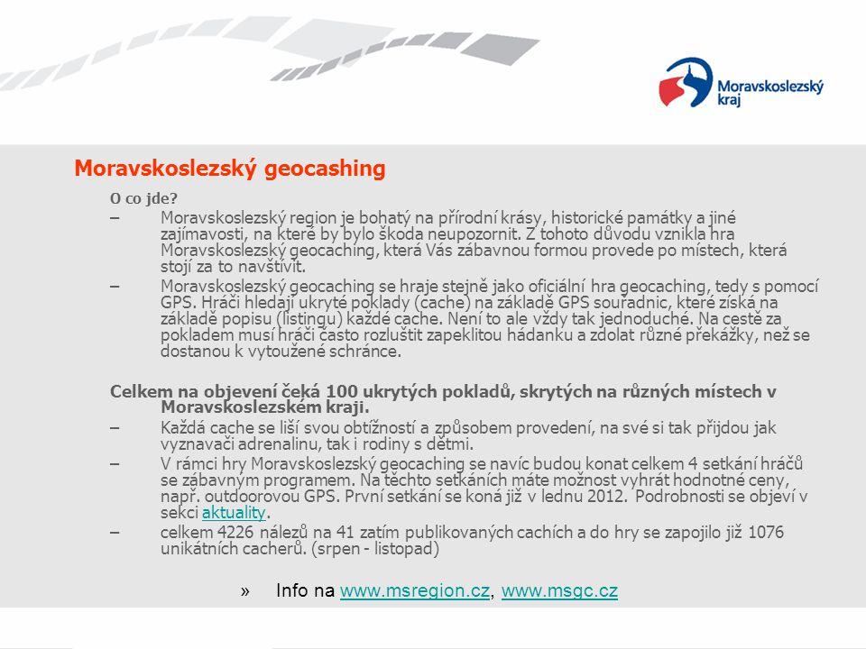 Moravskoslezský geocashing