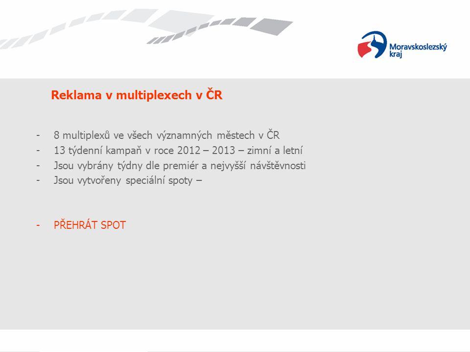 Reklama v multiplexech v ČR