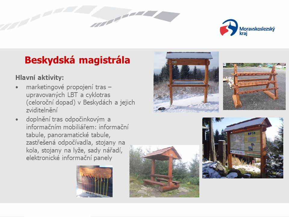 Beskydská magistrála Hlavní aktivity: