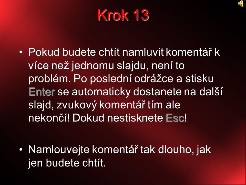 Krok 13