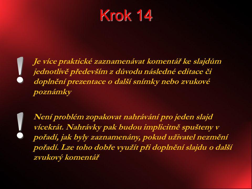 Krok 14