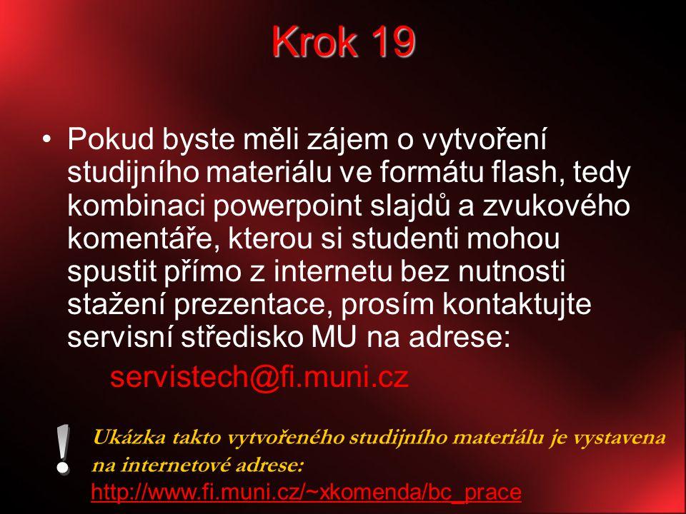 Krok 19