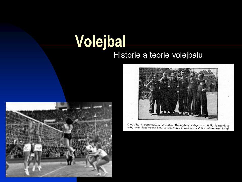 Historie a teorie volejbalu