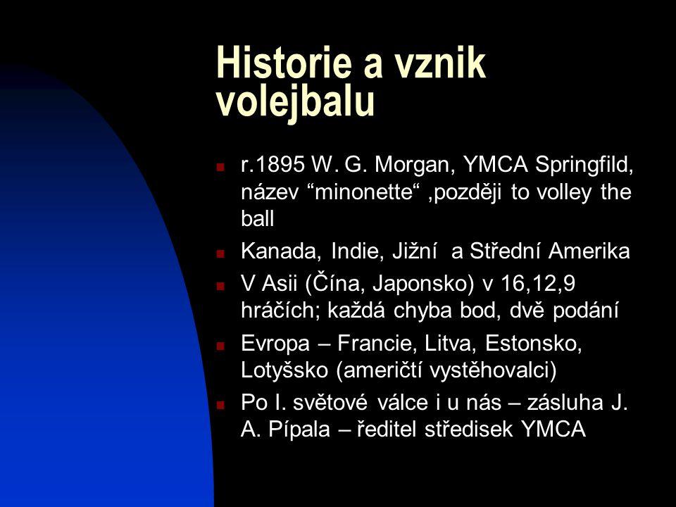 Historie a vznik volejbalu