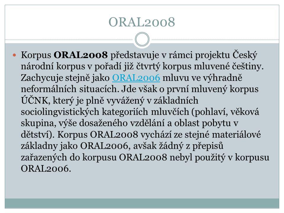 ORAL2008