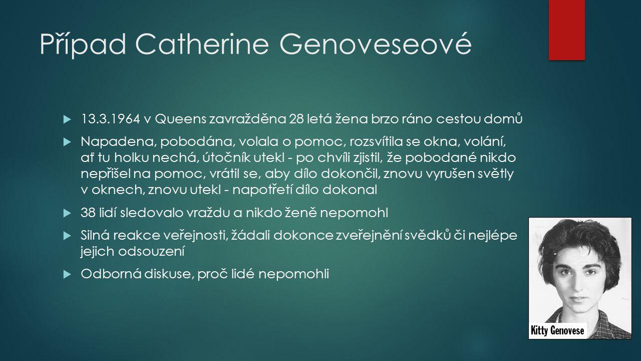 Případ Catherine Genoveseové