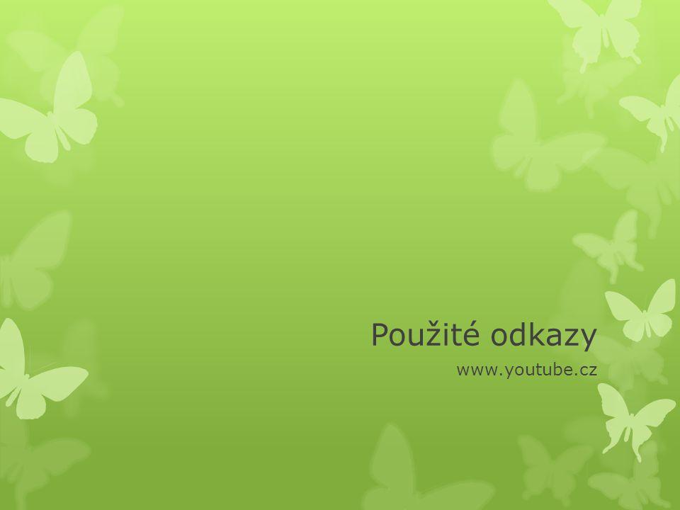Použité odkazy www.youtube.cz