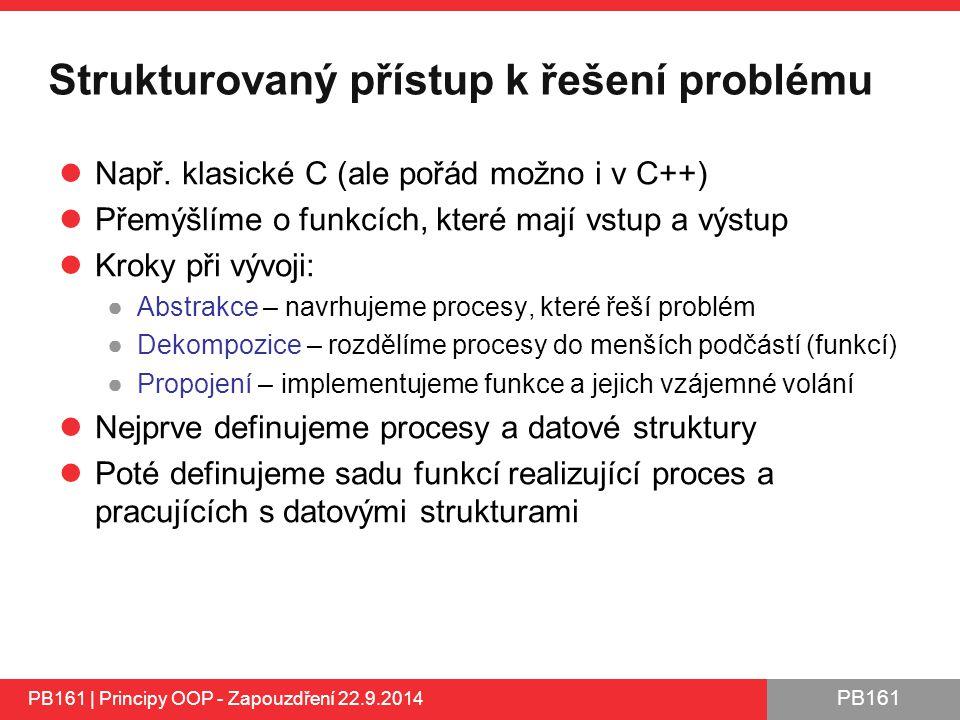 Strukturovaný přístup k řešení problému