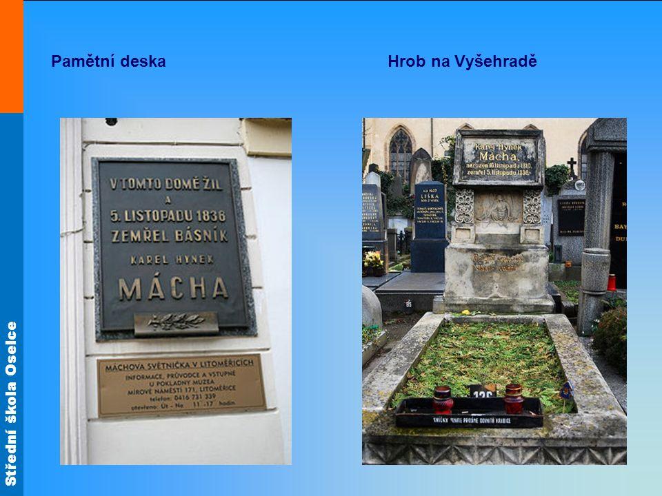 Pamětní deska Hrob na Vyšehradě