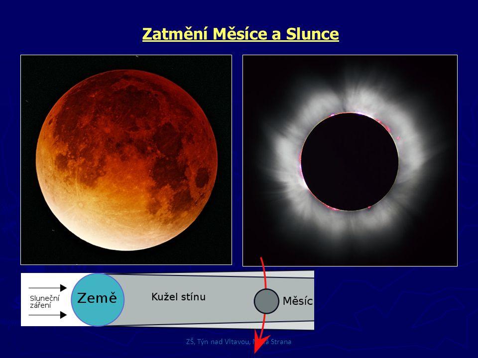 Zatmění Měsíce a Slunce