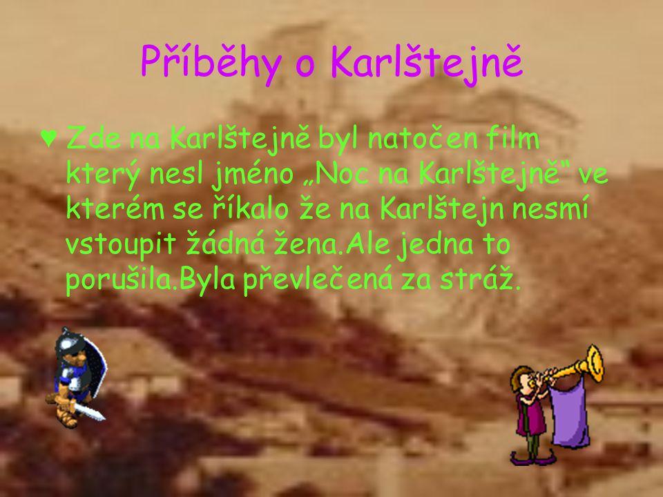 Příběhy o Karlštejně