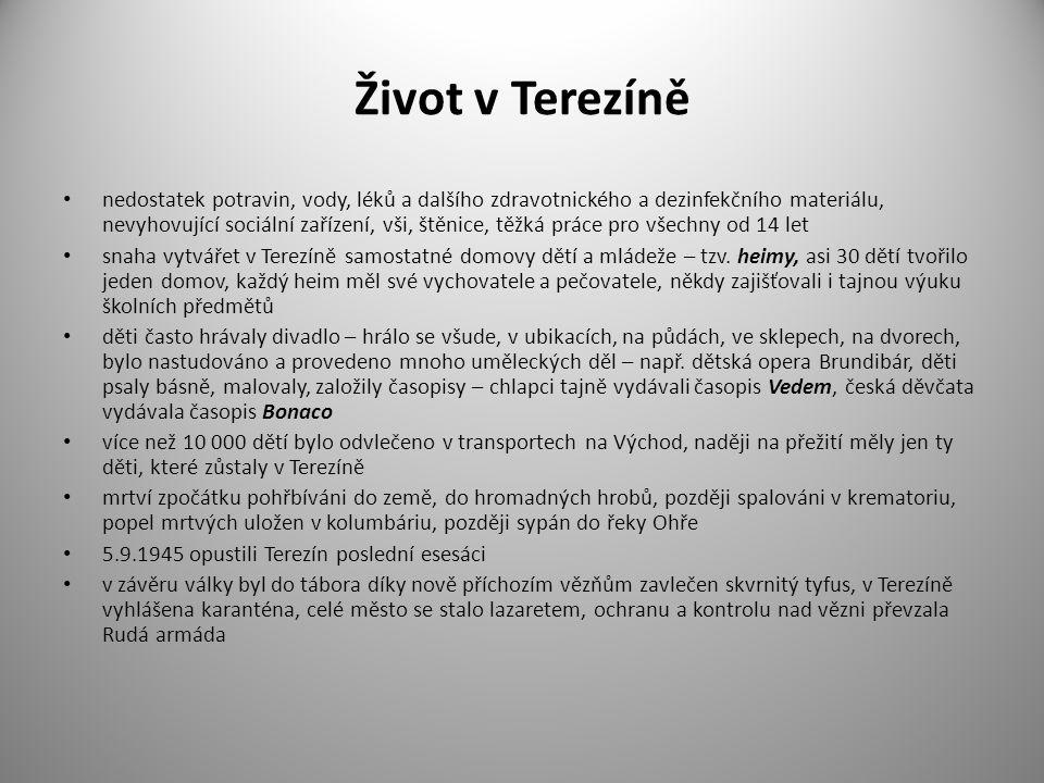 Život v Terezíně