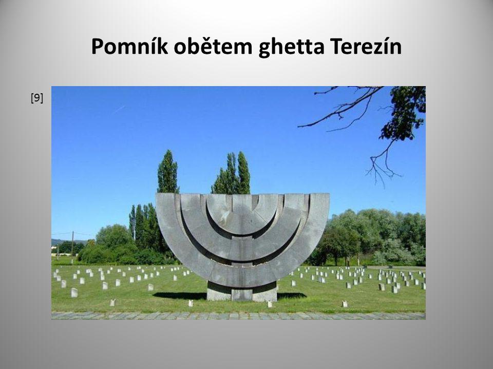 Pomník obětem ghetta Terezín