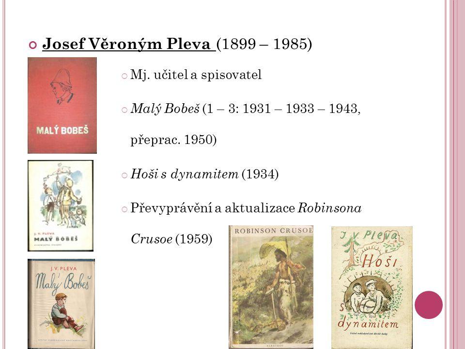 Josef Věroným Pleva (1899 – 1985)