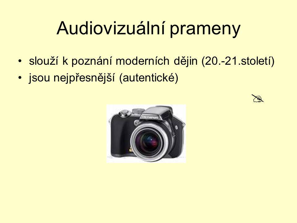 Audiovizuální prameny