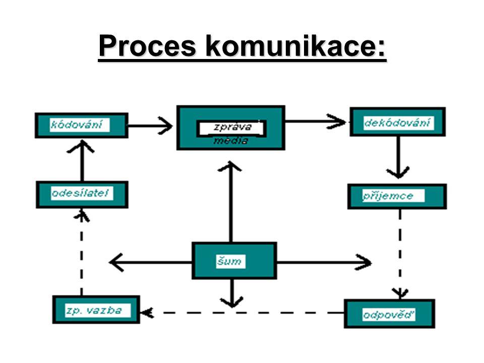 Proces komunikace: