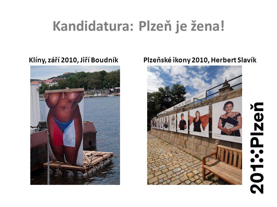Kandidatura: Plzeň je žena!