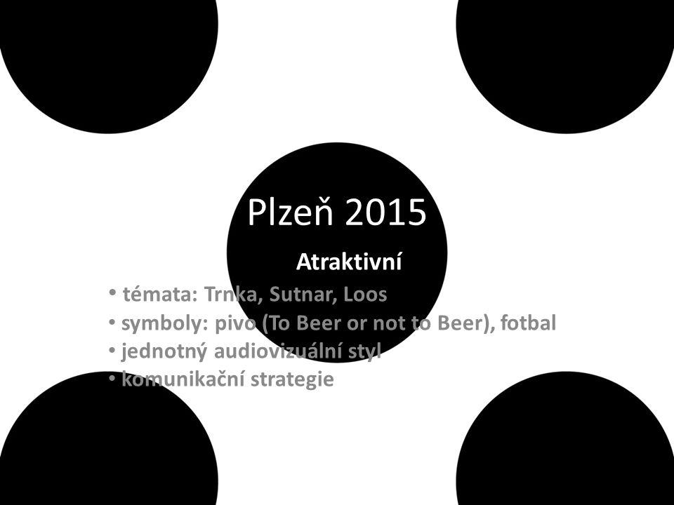Plzeň 2015 Atraktivní témata: Trnka, Sutnar, Loos