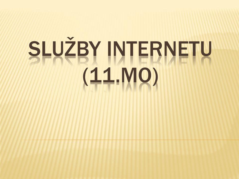 SLUžby internetu (11.MO)