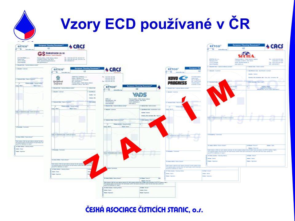 Vzory ECD používané v ČR