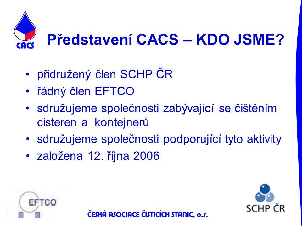 Představení CACS – KDO JSME