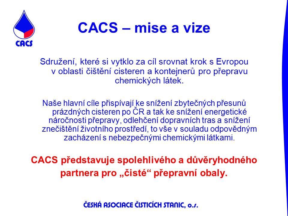 CACS – mise a vize CACS představuje spolehlivého a důvěryhodného