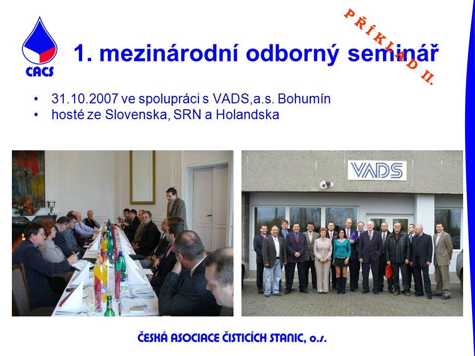 1. mezinárodní odborný seminář