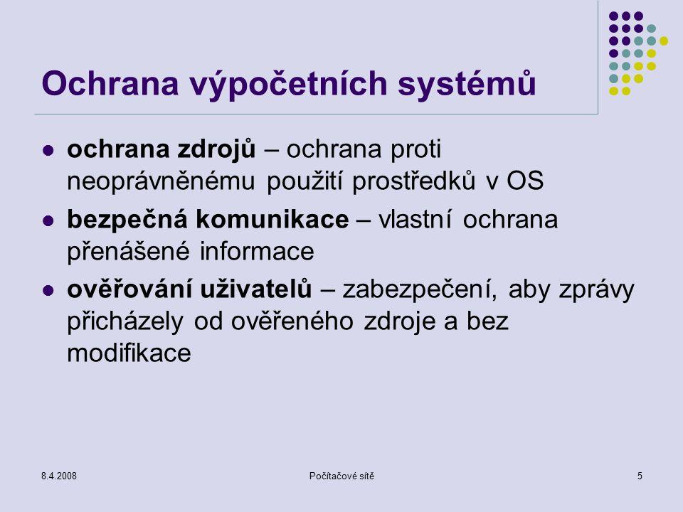 Ochrana výpočetních systémů