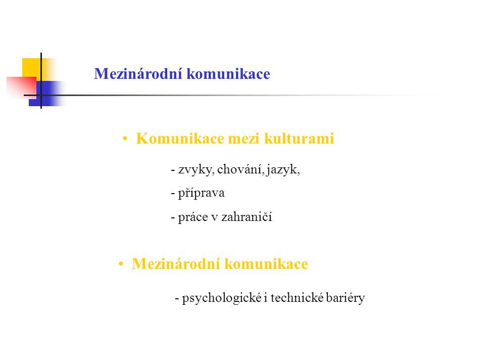 Mezinárodní komunikace