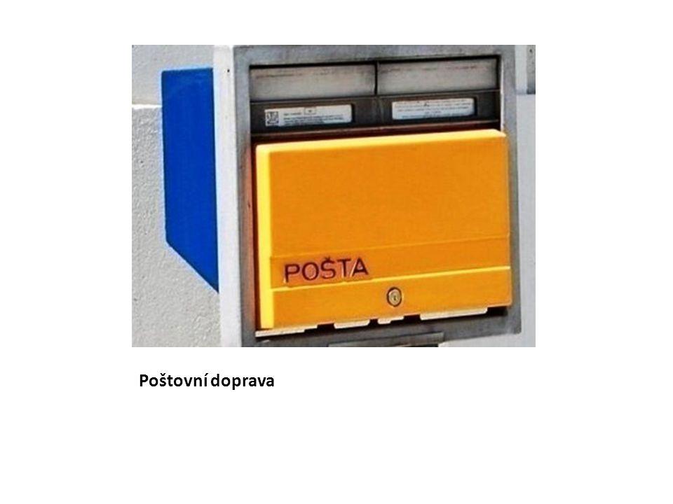 Poštovní doprava