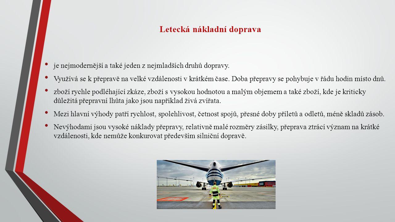 Letecká nákladní doprava
