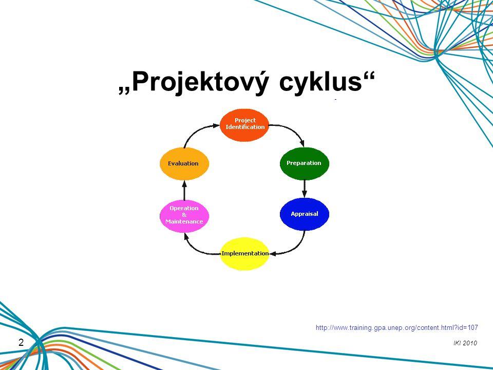 """Projektový cyklus http://www.training.gpa.unep.org/content.html id=107 2"
